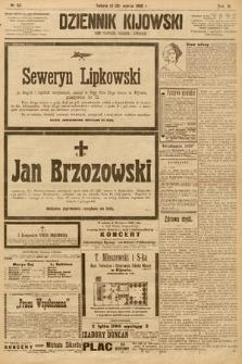Dziennik Kijowski : pismo społeczne, polityczne i literackie. 1908, nr63