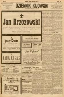 Dziennik Kijowski : pismo społeczne, polityczne i literackie. 1908, nr65