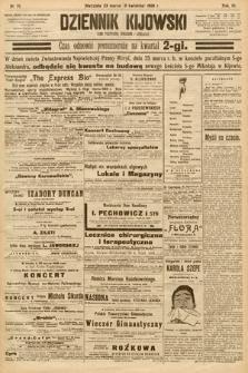 Dziennik Kijowski : pismo społeczne, polityczne i literackie. 1908, nr70