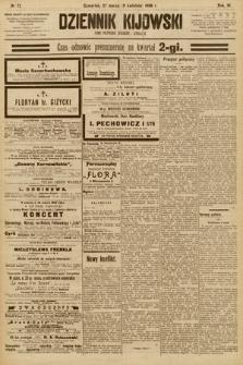 Dziennik Kijowski : pismo społeczne, polityczne i literackie. 1908, nr72