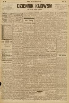 Dziennik Kijowski : pismo społeczne, polityczne i literackie. 1908, nr80