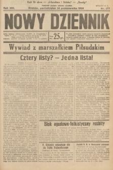 Nowy Dziennik. 1930, nr277