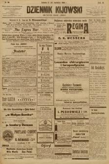 Dziennik Kijowski : pismo społeczne, polityczne i literackie. 1908, nr86