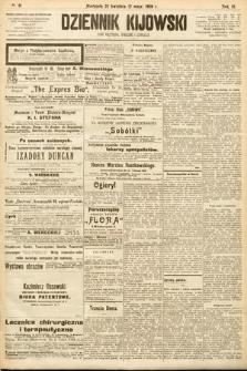 Dziennik Kijowski : pismo społeczne, polityczne i literackie. 1908, nr91