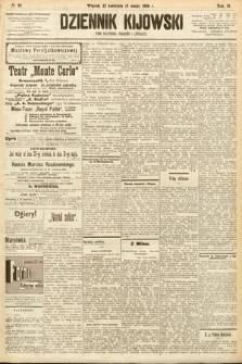 Dziennik Kijowski : pismo społeczne, polityczne i literackie. 1908, nr92