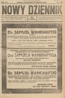 Nowy Dziennik. 1930, nr297