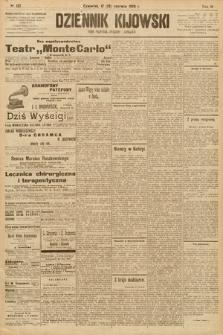 Dziennik Kijowski : pismo społeczne, polityczne i literackie. 1908, nr122
