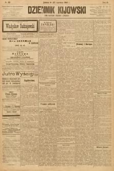Dziennik Kijowski : pismo społeczne, polityczne i literackie. 1908, nr123