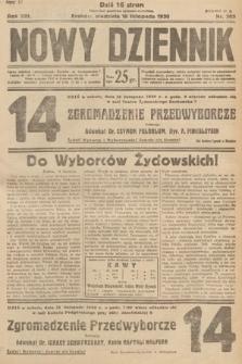 Nowy Dziennik. 1930, nr303