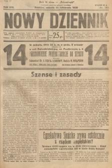 Nowy Dziennik. 1930, nr309