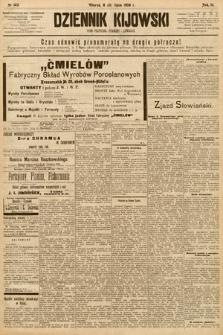 Dziennik Kijowski : pismo społeczne, polityczne i literackie. 1908, nr143