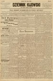 Dziennik Kijowski : pismo społeczne, polityczne i literackie. 1908, nr144