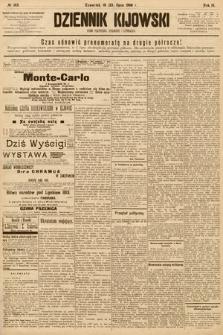 Dziennik Kijowski : pismo społeczne, polityczne i literackie. 1908, nr145