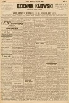 Dziennik Kijowski : pismo społeczne, polityczne i literackie. 1908, nr153