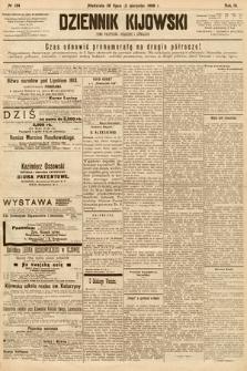 Dziennik Kijowski : pismo społeczne, polityczne i literackie. 1908, nr154