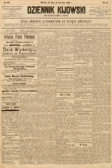 Dziennik Kijowski : pismo społeczne, polityczne i literackie. 1908, nr155