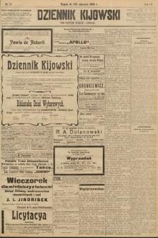 Dziennik Kijowski:pismo polityczne, społeczne iliterackie. 1909, nr12
