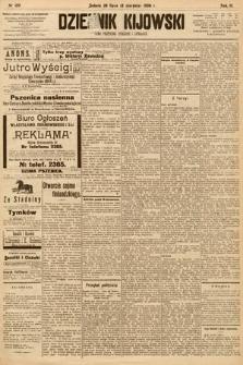 Dziennik Kijowski : pismo społeczne, polityczne i literackie. 1908, nr159