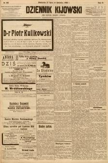Dziennik Kijowski : pismo społeczne, polityczne i literackie. 1908, nr160