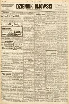 Dziennik Kijowski : pismo społeczne, polityczne i literackie. 1908, nr168