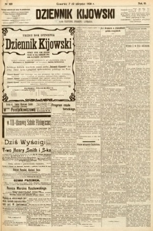 Dziennik Kijowski : pismo społeczne, polityczne i literackie. 1908, nr169