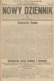 Nowy Dziennik. 1930, nr328