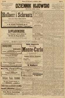 Dziennik Kijowski : pismo społeczne, polityczne i literackie. 1908, nr178