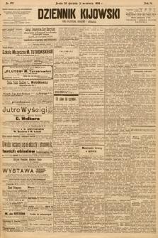 Dziennik Kijowski : pismo społeczne, polityczne i literackie. 1908, nr179