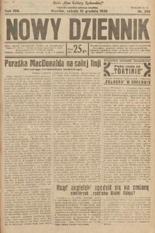 Nowy Dziennik. 1930, nr330