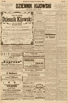 Dziennik Kijowski : pismo społeczne, polityczne i literackie. 1908, nr183