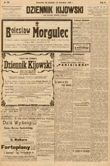 Dziennik Kijowski : pismo społeczne, polityczne i literackie. 1908, nr186