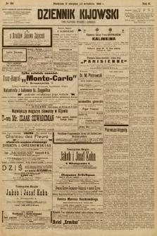 Dziennik Kijowski : pismo społeczne, polityczne i literackie. 1908, nr189