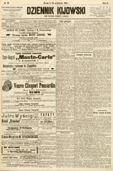 Dziennik Kijowski : pismo społeczne, polityczne i literackie. 1908, nr191