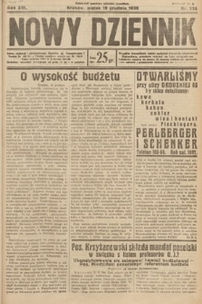 Nowy Dziennik. 1930, nr336