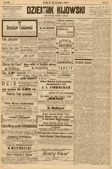 Dziennik Kijowski : pismo społeczne, polityczne i literackie. 1908, nr196