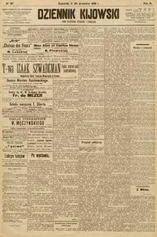Dziennik Kijowski : pismo społeczne, polityczne i literackie. 1908, nr197