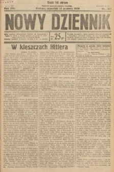 Nowy Dziennik. 1930, nr342