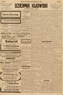 Dziennik Kijowski : pismo społeczne, polityczne i literackie. 1908, nr207