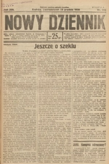Nowy Dziennik. 1930, nr344