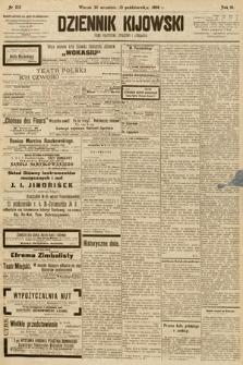 Dziennik Kijowski : pismo społeczne, polityczne i literackie. 1908, nr213