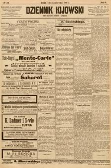 Dziennik Kijowski : pismo społeczne, polityczne i literackie. 1908, nr214