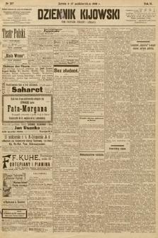 Dziennik Kijowski : pismo społeczne, polityczne i literackie. 1908, nr217