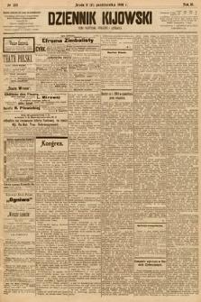 Dziennik Kijowski : pismo społeczne, polityczne i literackie. 1908, nr220