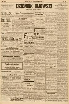 Dziennik Kijowski : pismo społeczne, polityczne i literackie. 1908, nr223