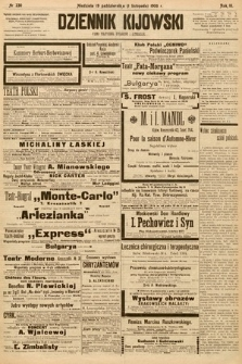 Dziennik Kijowski : pismo społeczne, polityczne i literackie. 1908, nr230