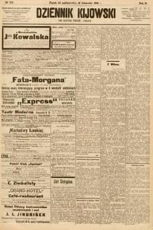 Dziennik Kijowski : pismo społeczne, polityczne i literackie. 1908, nr234
