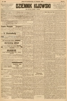 Dziennik Kijowski : pismo społeczne, polityczne i literackie. 1908, nr238