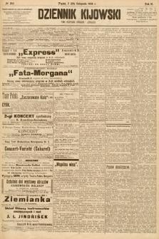Dziennik Kijowski : pismo społeczne, polityczne i literackie. 1908, nr245