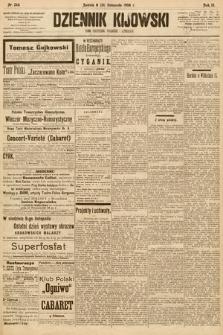 Dziennik Kijowski : pismo społeczne, polityczne i literackie. 1908, nr246