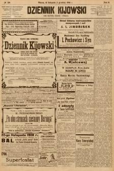 Dziennik Kijowski : pismo społeczne, polityczne i literackie. 1908, nr254